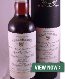 Hazelburn Bond Reserve Sherry Cask from Springbank Distillery 8 Year Old - 70cl / 57.4%