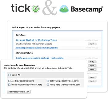 Tick and Basecamp